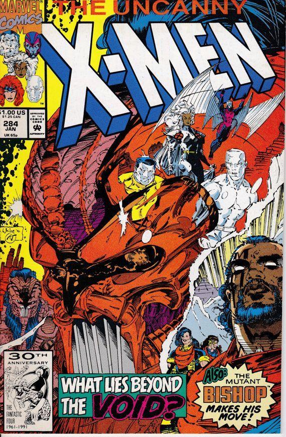 Uncanny X Men 284 January 1992 Marvel Comics Grade Nm Etsy Marvel Comic Books Marvel Comics Covers Xmen Comics