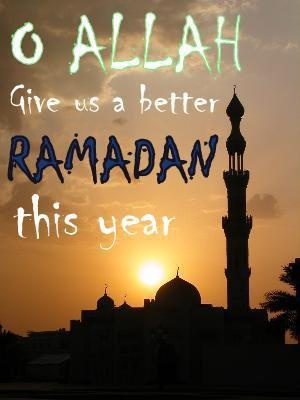 Ameen! May Allah seal our hearts with complete taqwa and grant us jannatul firdous, ameen Ramadan Kareem everyone.