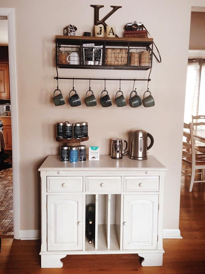 Great Idea For A Tea And Coffee Station, At Manifesto Photography. [Great  Idea