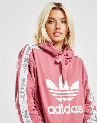 3c5ef877842bb6 adidas Originals Tape Overhead Hættetrøje Dame in 2019 | Dressing ...