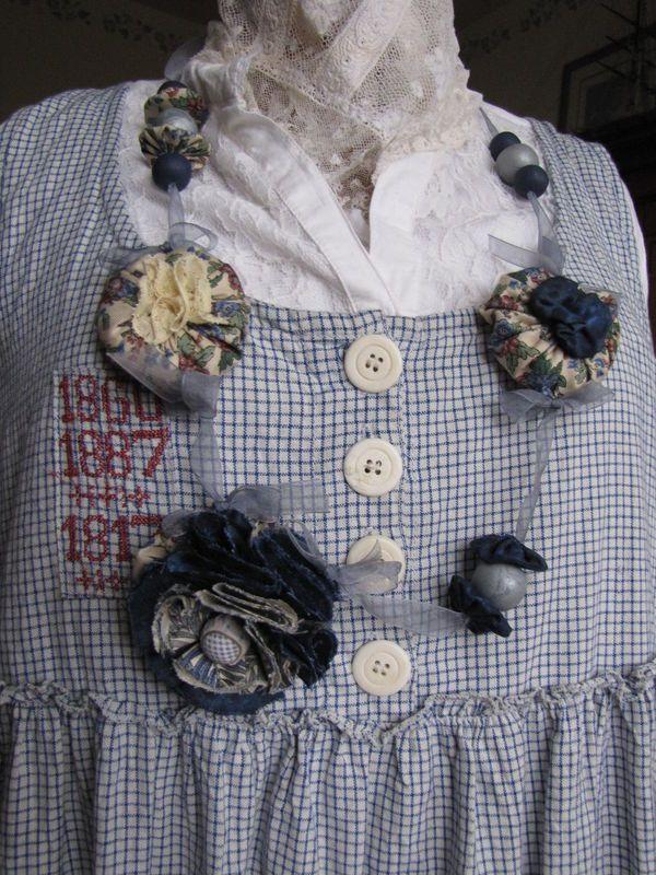 des bijoux pour la robe Ewa I Walla