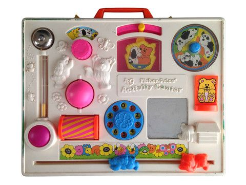 Vintage 1984 Fisher Price Activity Center – Junkie Charity Store