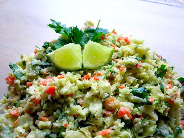 Avocado-Koriander-Krautsalat   Thermosphäre