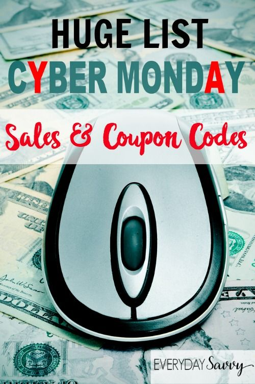 List of Live 2015 Cyber Monday Sales - Cyber Week Sales - Cyber Monday Coupons and Free shipping