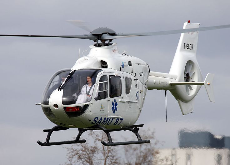 H135 SAMU helicopter, Photo : Stéphane Gimard