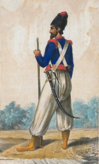 1830 Persian Soldier