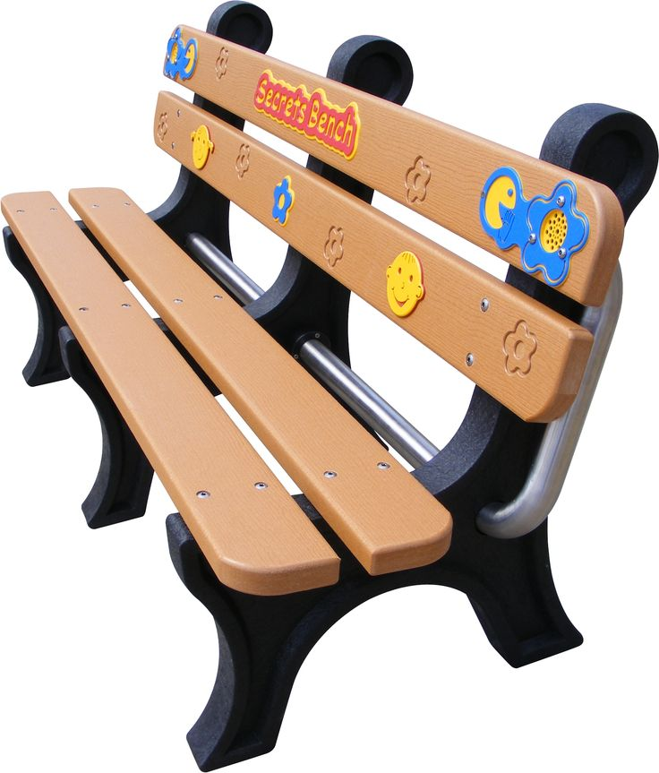 This secrets bench is perfect for when children need to talk