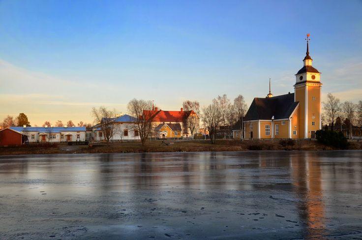 Uusikaarlepyy. Ostrobothnia province of Western Finland - Pohjanmaa photo Leif Sjöholm
