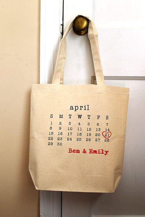 Unique and Chic Weddings : Oh So Special Wedding Gifts ~ Personalised Shopper Bag