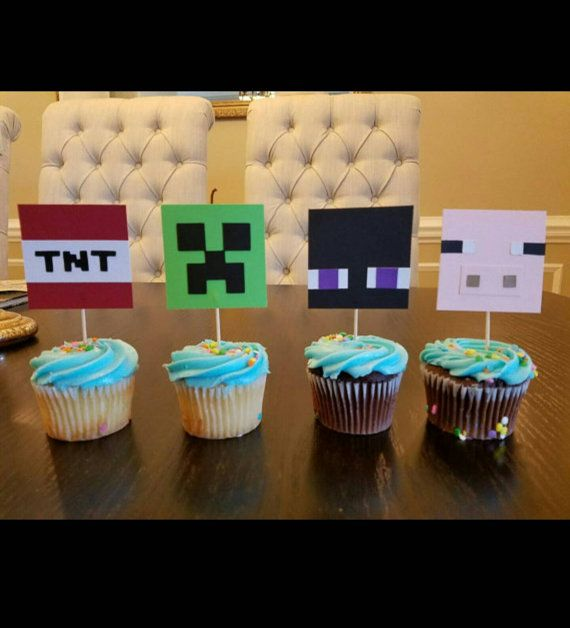 Pacchetto party compleanno di Minecraft di ANGIEWHITE77FL su Etsy