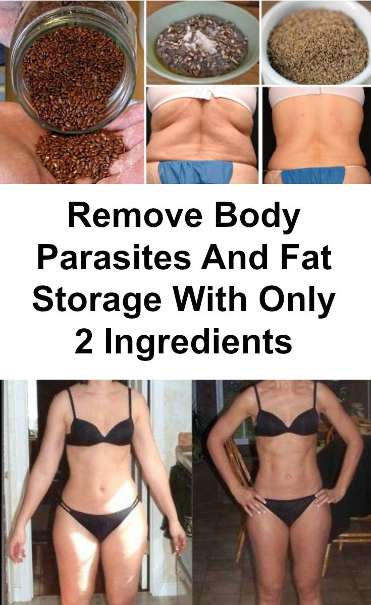 In this article, we'll present you how to use only two natural ingredients that will help you remove all the fat and body parasites from your body! The results will amaze you!