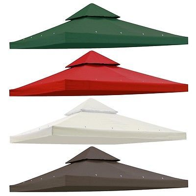 farm and garden: 8X8 10X10 12X12 Gazebo Top Canopy Replacement Uv30 Patio Outdoor Garden Cover -> BUY IT NOW ONLY: $34.9 on eBay!