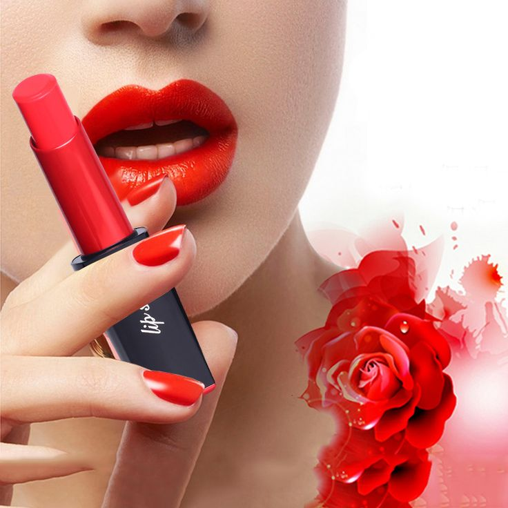 Brand New 1pcs 6 Colors Makeup Lipstick Lipsticks Waterproof Lipsticks Easy to Wear Pencil Lip Stick Cosmetic M02266