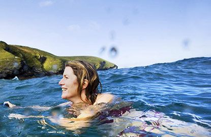 Kate Rew who founded the Outside Swimming Society http://www.outdoorswimmingsociety.com/