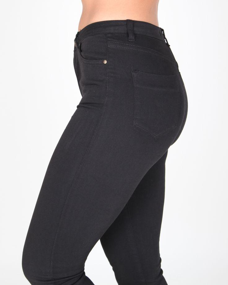 Los #jeans que mejor sientan, los de talle alto, cómodos y se adaptan a cualquier silueta #yesswear #moda #casual #pantalones