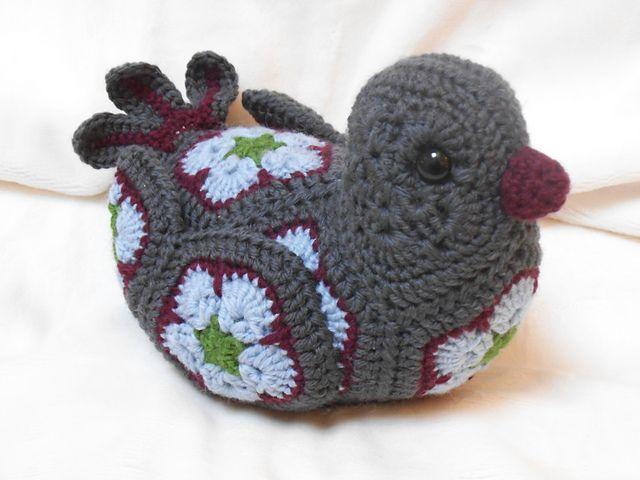 Bluebird of Happiness African Flower pattern by Heidi ...