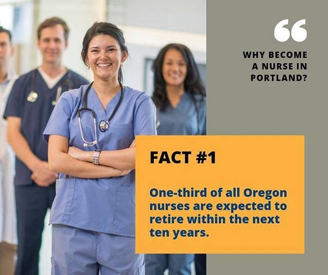 Here S Why You Should Become A Nurse In Portland Orgeon Nurse Portland Pdx Or Bachelor Of Science In Nursing Nursing Programs Accelerated Nursing Programs