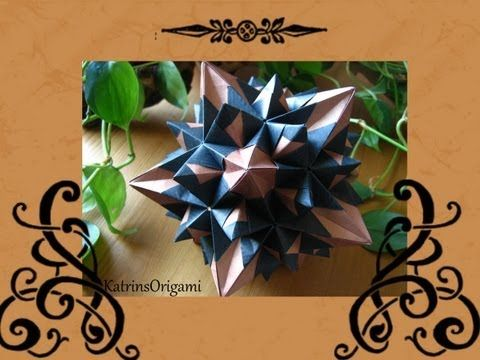Origami ✿ Signum Kusudama & ✿ Signum Ametrine Kusudama