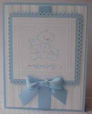 In My Craft Room: Baby Boy Bear Hugs