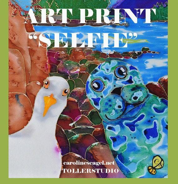 Selfie by TollerStudio on Etsy