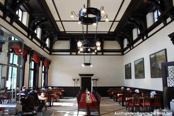 """Café Grenzbahnhof in Bayerisch Eisenstein, Museumscafé """"NaturparkWelten"""""""