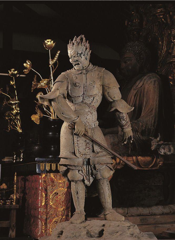 伐折羅大将像-basarataishouzou- (Vajra) One of 12 persons' guardian deity. 薬師如来(Yakushi…