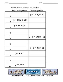 math worksheet : math worksheets slope  inb algebra slope linear equations on  : Math Worksheets Slope