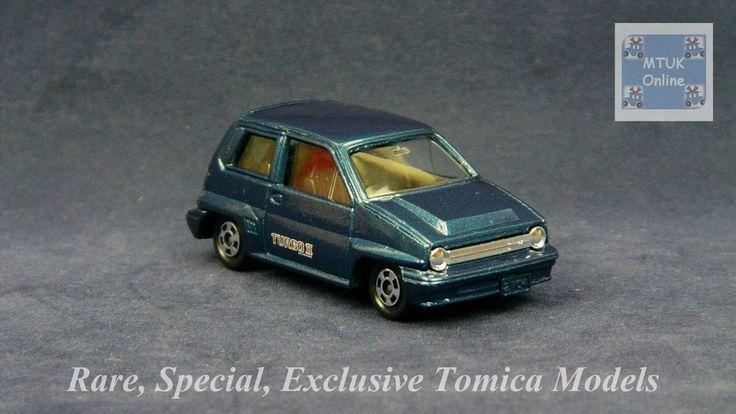 TOMICA 054D HONDA CITY TURBO E-AA   1/57   JAPAN   HONDA DIRECT 1999 #JDM