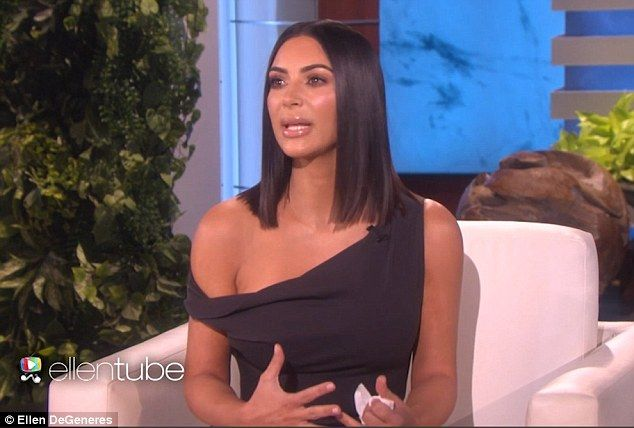 Back to the spotlight: Kim Kardashian proved she was a changed woman when she made her debut TV appearance since the terrifying incidient, breaking down in tears as she made her grand return on The Ellen DeGeneres Show