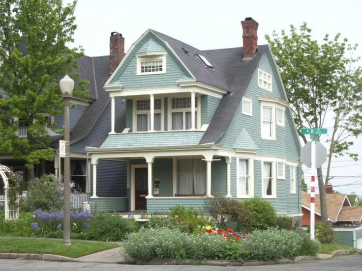 This Shingle Style Victorian House Was Across The Street