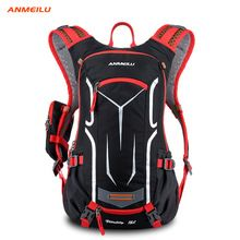 US $35.28 ANMEILU Sport Bag Outdoor Waterproof 18 L Camping Cycling Backpack Men Women Hiking Rucksack Mochila Ciclismo With Rain Cover. Aliexpress product