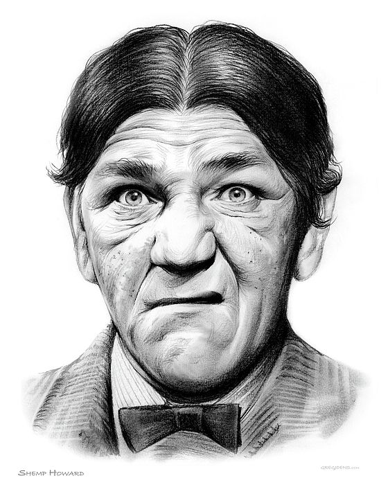 Shemp Howard of the Three Stooges