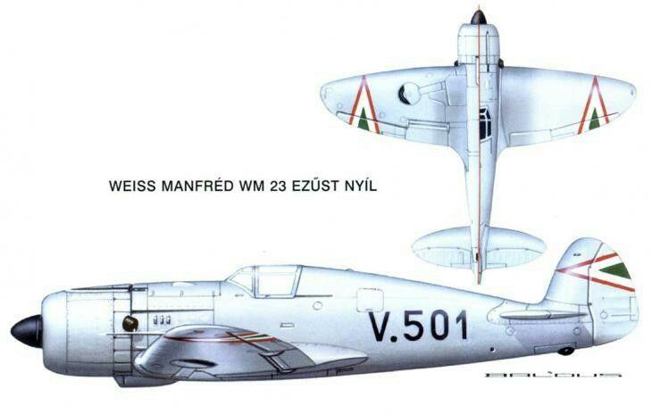 Weiss WM-23 Ezustnyil fighter