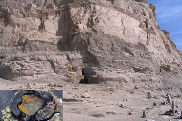 150,000-Year-Old Pipes in China- In this pyramid-shaped mountain in Qinghai Province, scientists have found a number of different sizes of lead pipes that lead from the caves inside out to a salt water lake. Apparently smelted, the composition contains 8% of material that can't be identified. Also, they appear to be radioactive. More evidence of an ancient human-made catastrophe destroying civilization so completely none of us remember?