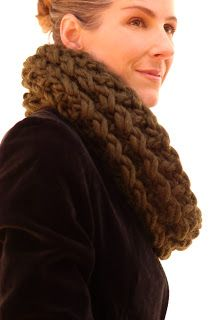 The Canadian: free knit cowl pattern