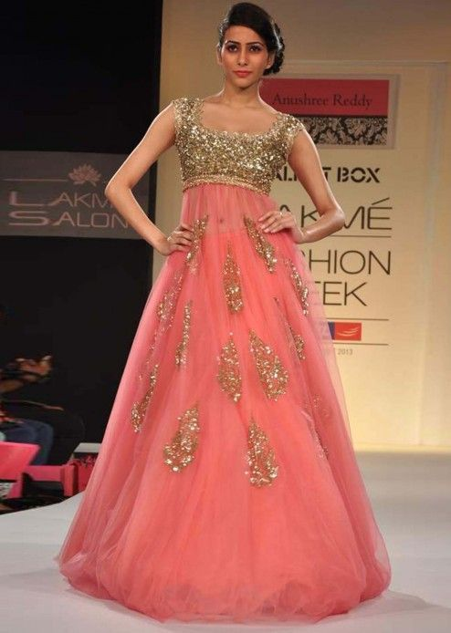 Anushree Reddy wedding reception dress