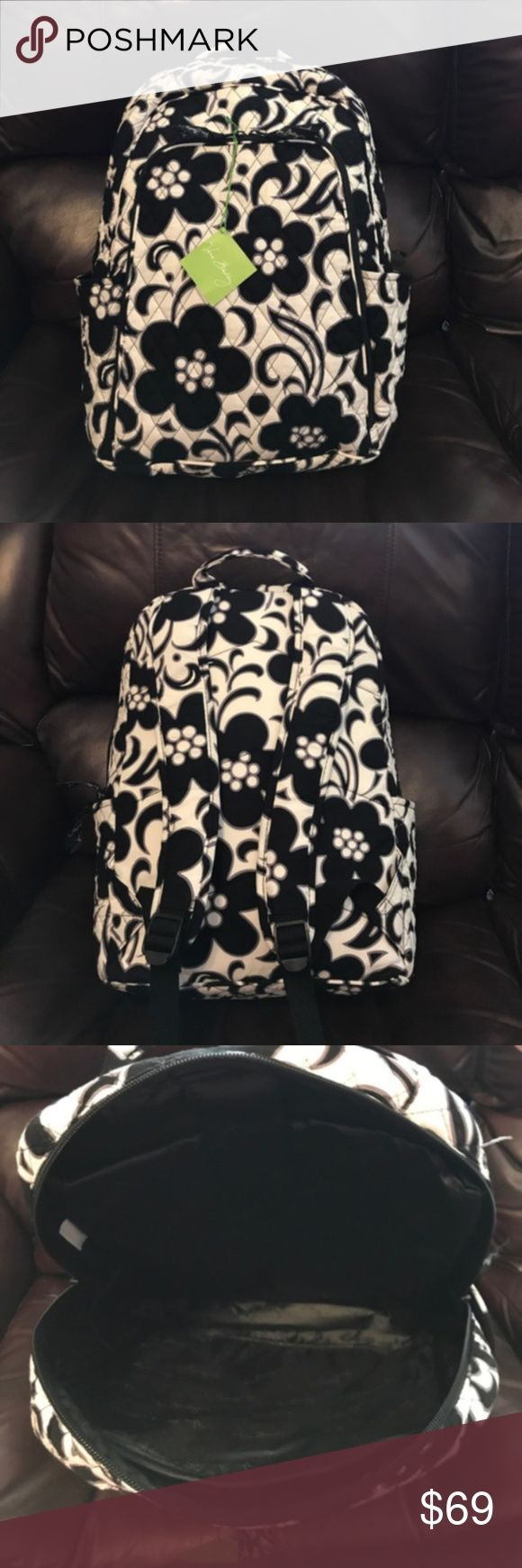 "NWT Vera Bradley night and day laptop backpack NWT Vera Bradley night and day laptop backpack. Measures 11½"" x 15¾"" x 7"" with 28½"" adjustable straps. Vera Bradley Bags Backpacks"