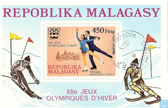 Postage Stamps - Madagascar - Olympic Games