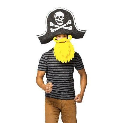 ee3bc563f9f Chris March  Big Fun - Pirate Hat Foam Wig