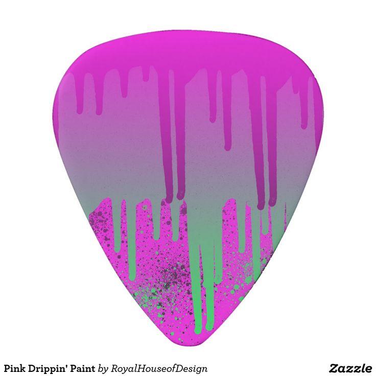 Pink Drippin' Paint Pick