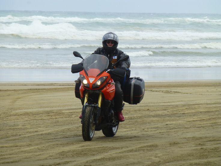 Beach rider. North Island