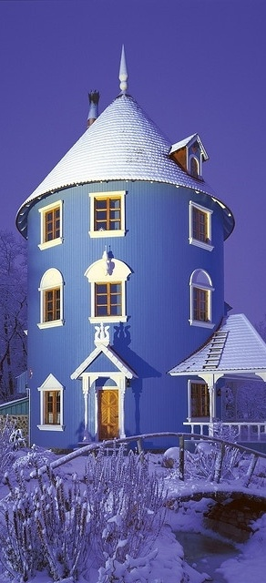 Moomin House in Winter