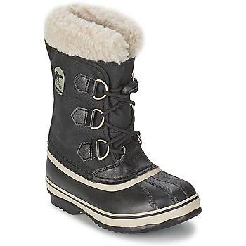 Snow+boots+Sorel+YOOT+PAC+NYLON+Black+77.00+€
