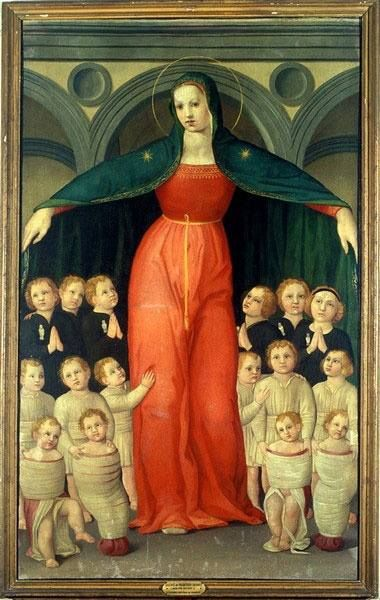 Madonna of the Foundlings, Domenico di Michelino, ca. 1446