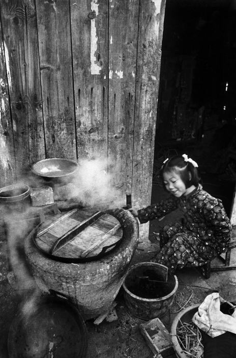 Sian, China by Hiroshi Hamaya