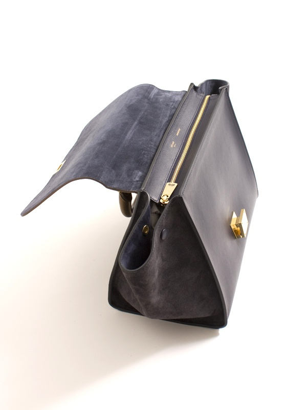 Celine Trapeze midnight bag 6