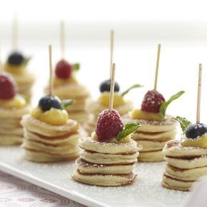 Stonewall Kitchen: Adorable Mini Pancake Stacks