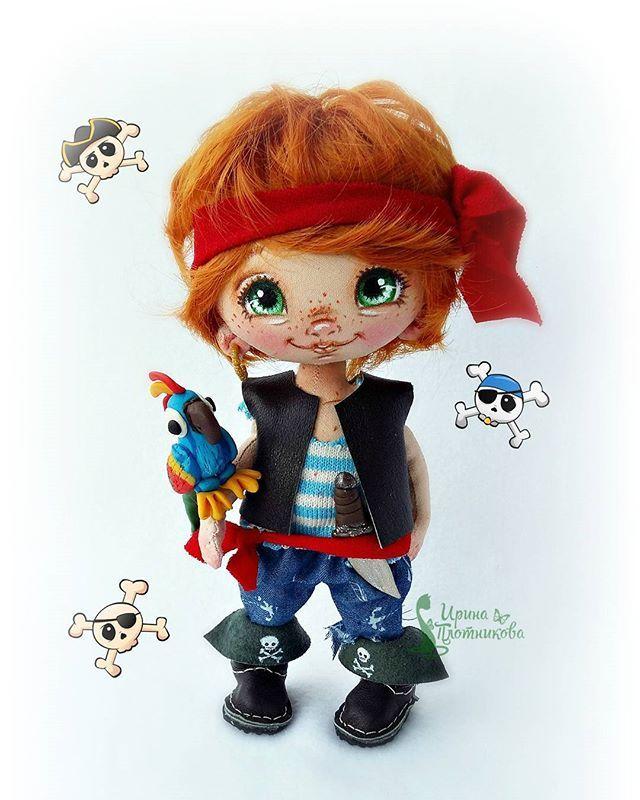 Пиратик)😄На этот раз рыжий)Малыш в резерве.Собирается в Америку.✈ #СладулькиотИриски  #пират #мальчишка #Рыжий