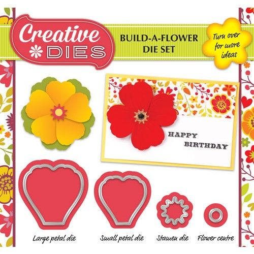 Don't miss your Build-a-flower die set free with Simply Cards & Papercraft 140. Grab yours today!
