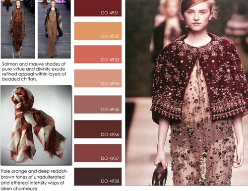 women's contemporary market fall winter f/w 2012 2013, color trends, sheer perfection detail
